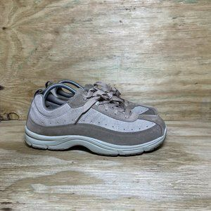 LL Bean Suede Comfort Moc Shoes Womens Size 11 M Brown 05330 Lace Up